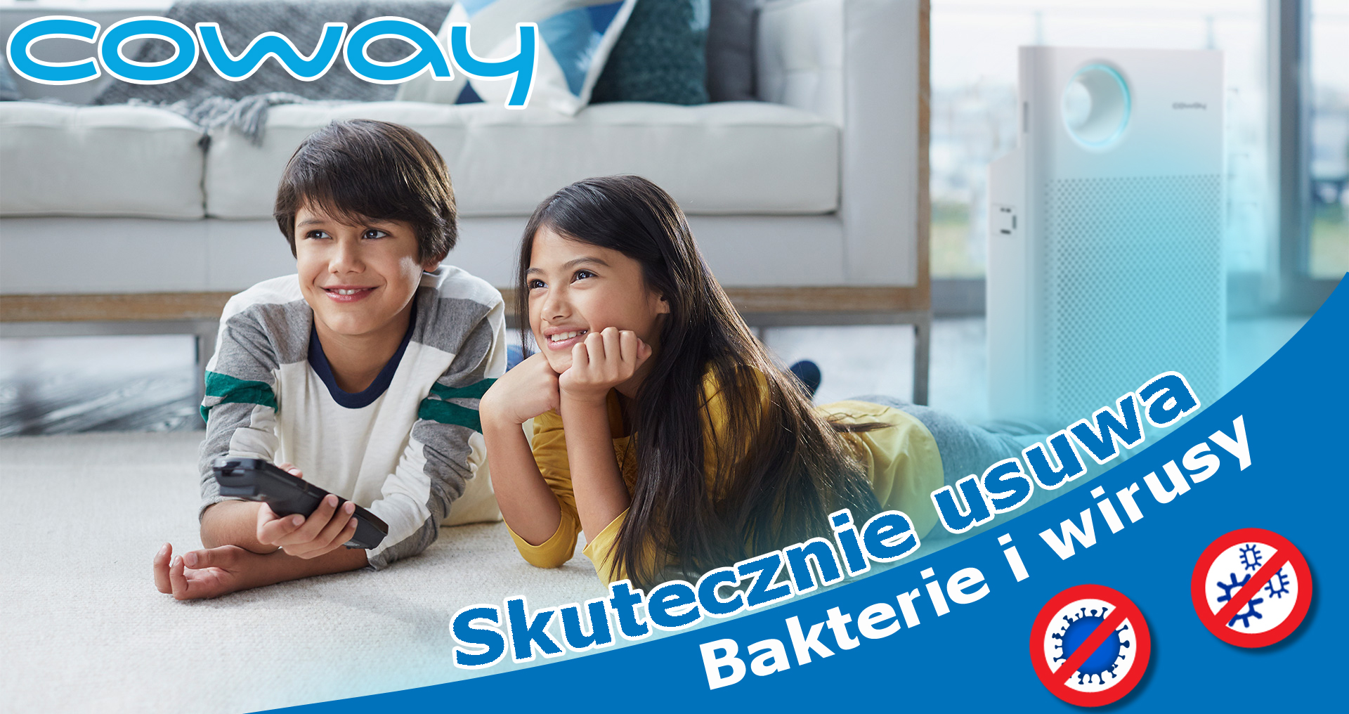 Coway Classic wirusy i bakterie